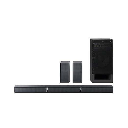 34 opinioni per Sony HT-RT3 Sistema Home Cinema 5.1 Canali, 600 W, Bluetooth, NFC, USB, Nero