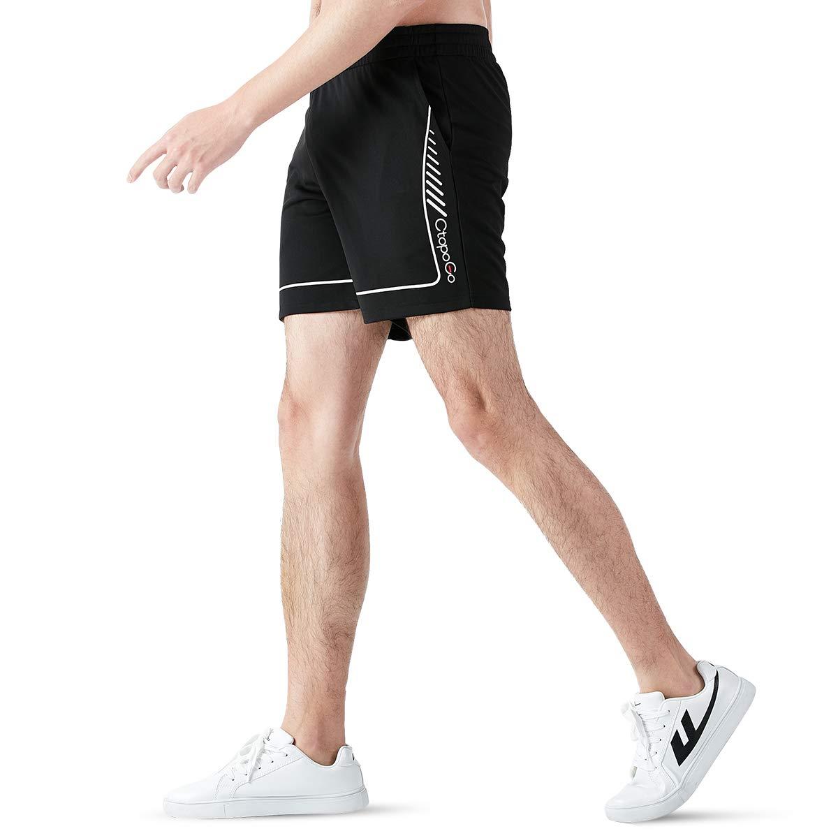 CtopoGo Homme Sport Shorts,Mens Running Shorts S/échage Rapide Short Homme,Short de Course pour Homme-2 Poches