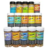 Dizzy Pig BBQ Rubs and Spices The Works Multi-pak (15 Bottles)