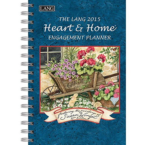 (Lang January to December, 6.25 x 9 Inches, Perfect Timing Heart and Home 2015 Engagement Planner by Susan Winget (1011074))
