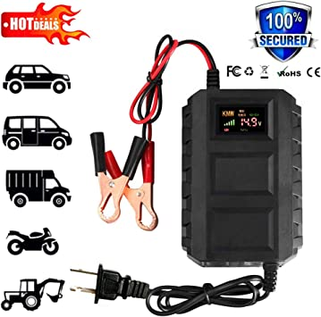 : 12V 20A Smart Fast Battery Charger Portable Car