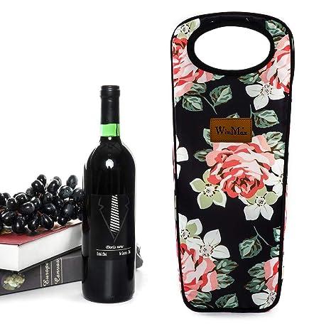 Compra winmax Bolsas de Vino y Botella, Flores, Small en ...
