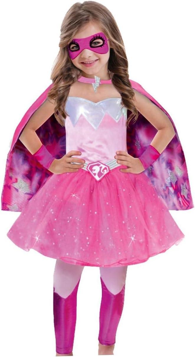 Amscan - Disfraz para niña Barbie, Rosa, 3 - 5 años: Amazon.es ...