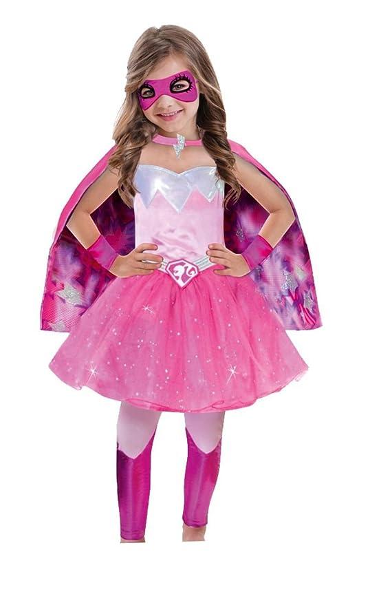 7 opinioni per Barbie Super Power Princess Costume da Carnevale, Colore Rosa (Pink), Taglia 104