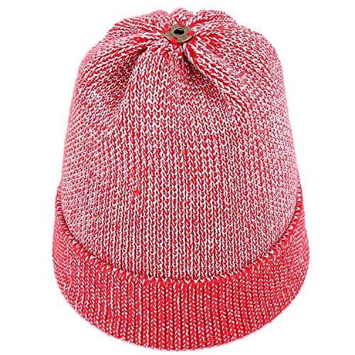 Noon-Sunshine∩ Ladies Pompom Knit Beanie Winter Woman