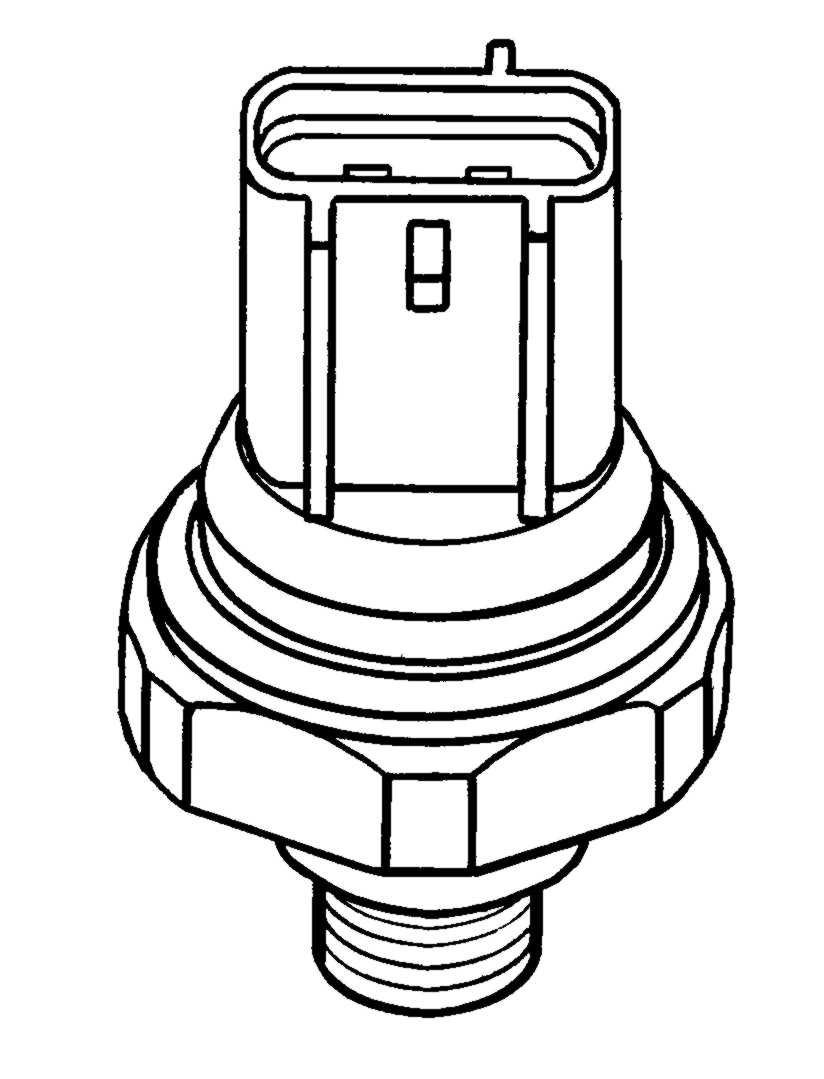 Klimaanlage NRF 38909 Druckschalter