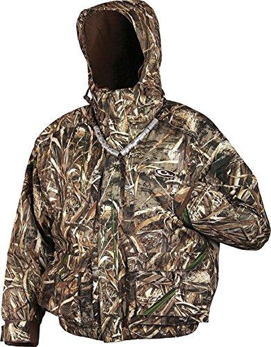 Drake Men's MST Strata Systems Coat (RealTree Max 5, X-Large)