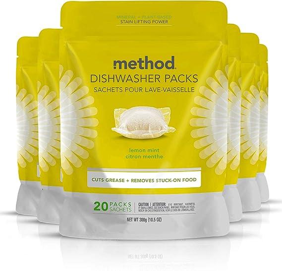 Method Power Dish Dishwasher Soap Packs