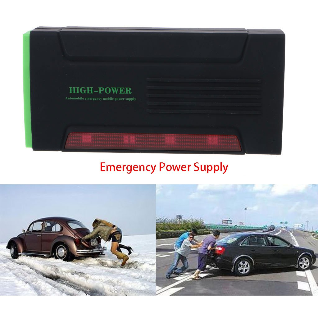 cici store 12V 68000mAh Portable Mini Car Jump Starter Booster Power Bank Battery Charger