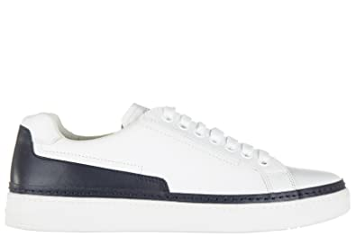 Chaussures baskets sneakers homme en cuir nevada Prada GNgCz