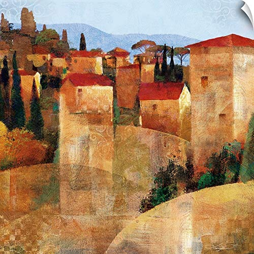 CANVAS ON DEMAND Keith Mallett Wall Peel Wall Art Print Entitled Tuscan Hillside ()