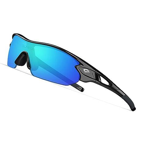 c9df7ff85ce6 TOREGE Tr90 Flexible Kids Sports Sunglasses Polarized Glasses for Junior Boys  Girls Age 3-12