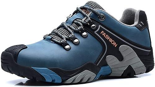 SINOES Herren Mesh Atmungsaktiv Outdoor Off Road Running Wandern Schuhe Trekking Camping Turnschuhe Lace up Low Top Sports Casual Footwear