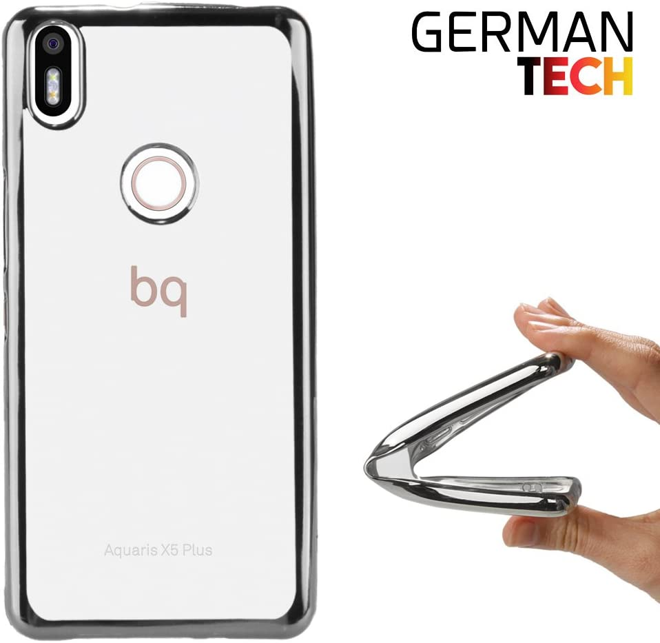 German Tech Funda Gel para BQ Aquaris X5 Plus. Carcasa ...