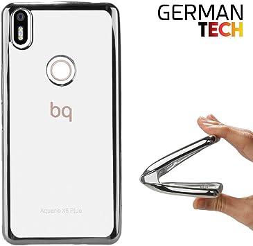German Tech Funda Gel para BQ Aquaris X5 Plus. Carcasa ...