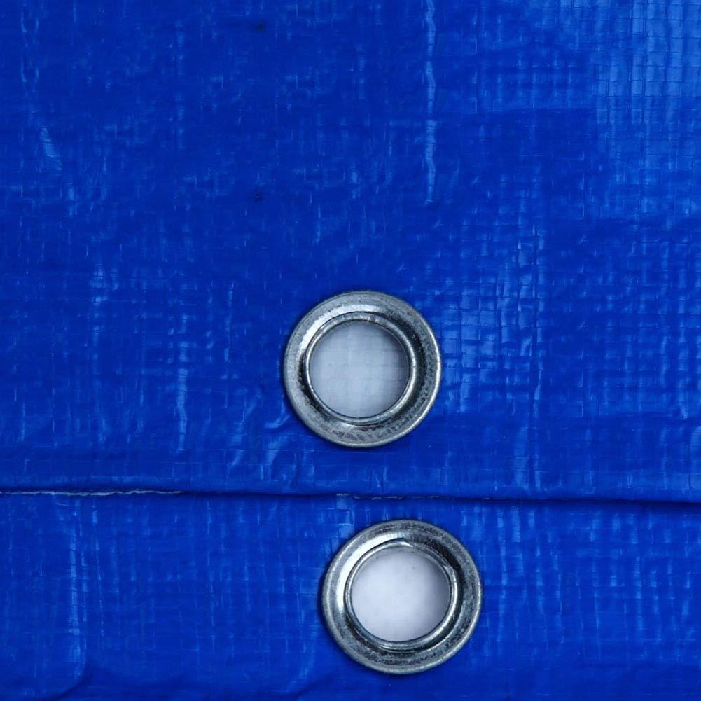 AJZGF Plane-Zeltes Im Freien Regenplane-Plane der Wasserdichten Plane des Plane-Zeltes AJZGF (Farbe   Blau, größe   3×5m) c1f0b8