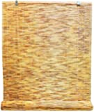 Radiance 0360726 Natural Woven Reed Light Filtering Roll Up Window Blind, 72-Inch Wide by 72-Inch High