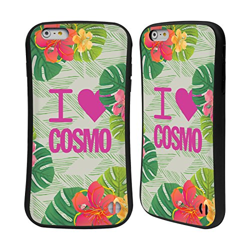 Official Cosmopolitan I Heart Tropical Hybrid Case for Apple iPhone 6 Plus / 6s Plus