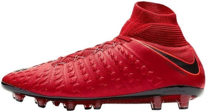 chaussure de foot nike hypervenom en rouge