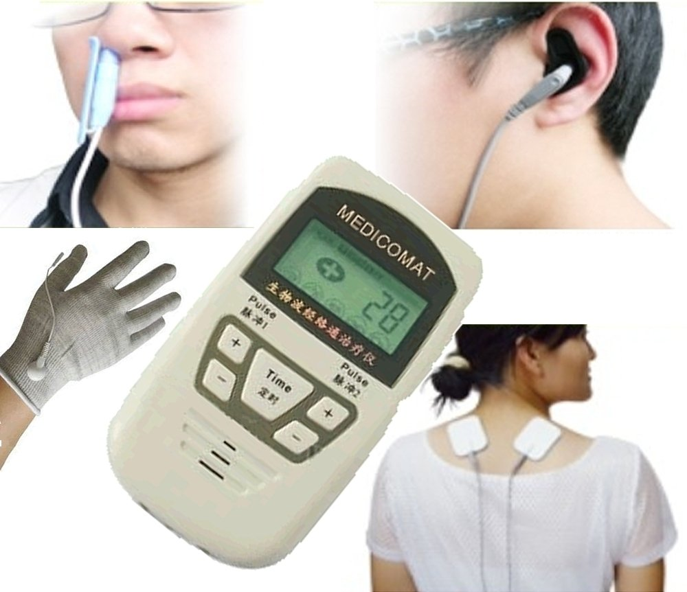 Low Level Light Therapy Medicomat-10L Cold Laser Treatment Diabetic Neuropatic Rhinitis Pain Massager