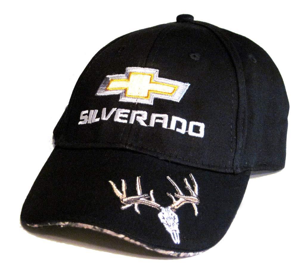 Gregs Automotive Chevy Silverado Dear Skull Hat Cap Black Chevrolet Bundle with Driving Style Decal Greg/'s Automotive 148BK