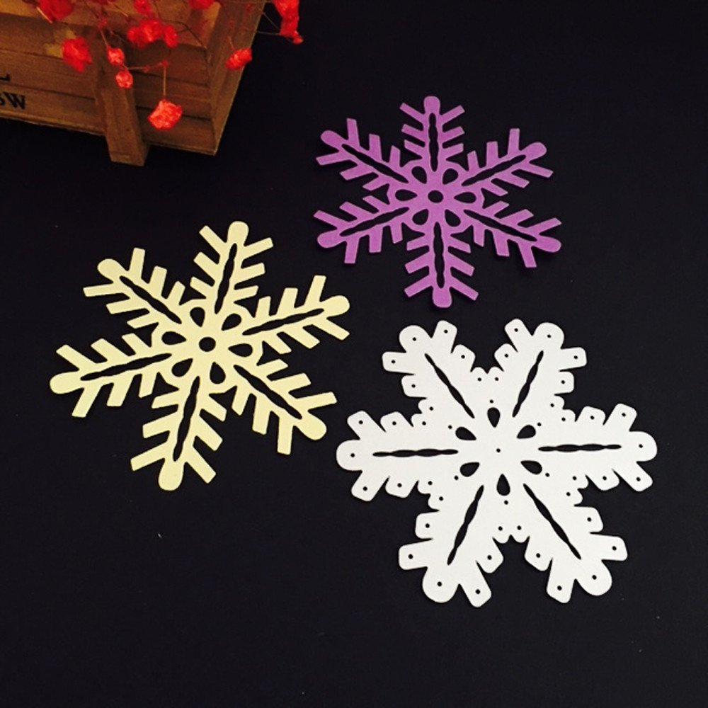 Snowflake Cutting Dies Page Two