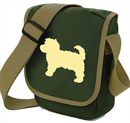 Of Cavapoo Choice Cream Olive Colours Dog Bag Reporter Gift Shoulder Silhouette wq4YFx64
