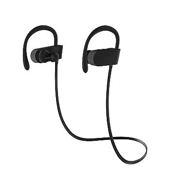 Auriculares Bluetooth Deportivos, chnano inalámbrico 4.1 auricular con micrófono resistente al sudor a prueba de