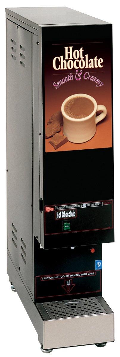 Grindmaster-Cecilware GB1SKI-HC [Non-Lit Door] 1-Flavor Ski Whipper Powdered Hot Chocolate Dispenser, 1-Hopper