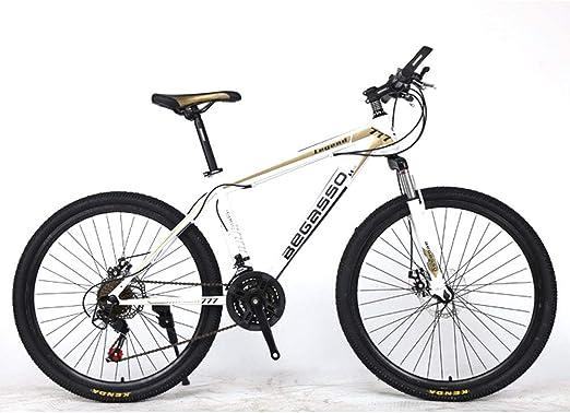 JH Bicicleta De Montaña, (26/24 Pulgadas) 30 De Amortiguación ...