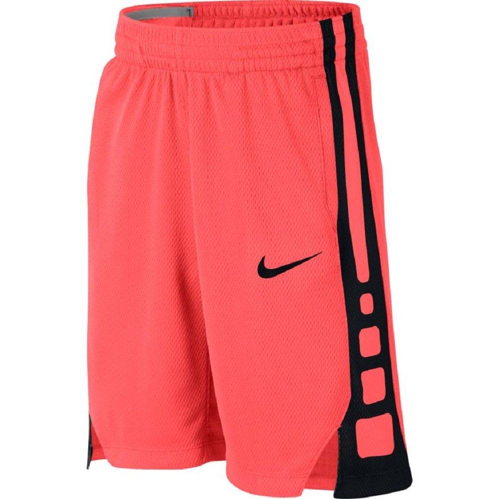 13393a73a496 Galleon - NIKE Boys  Dry Elite Stripe Basketball Shorts (L