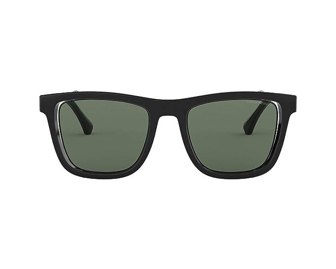 Emporio Armani 0EA4126, Gafas de sol para Hombre, Black 50 ...