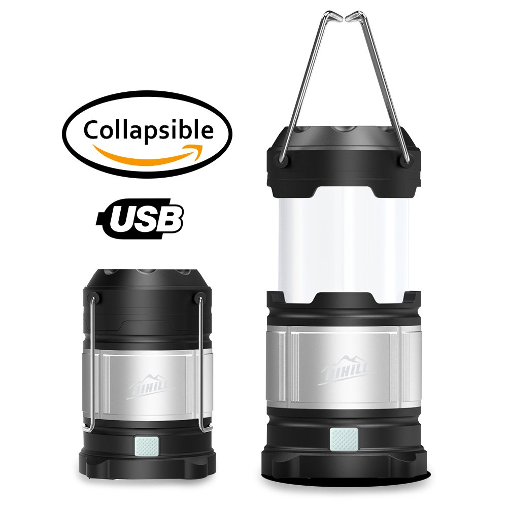 HiHiLL Camping Lantern Ultra Bright - Camping Equipment Gear Lights for Hiking, Emergencies, Hurricanes