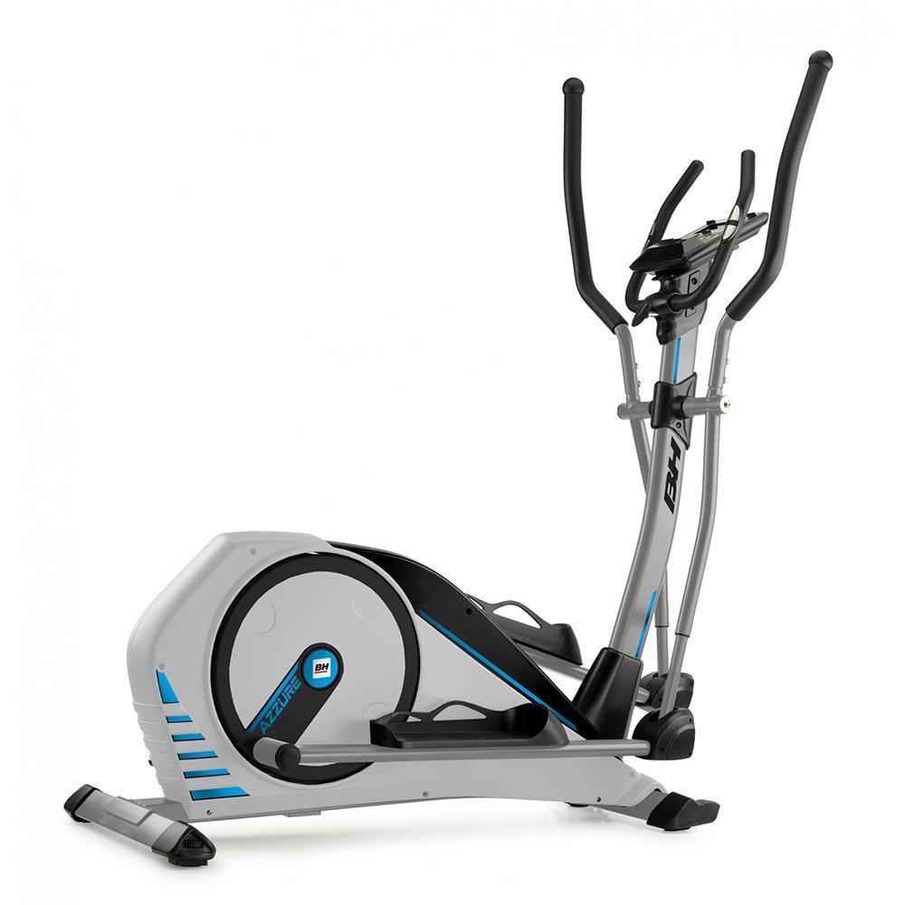 BH Fitness Crosstrainer Ellipsentrainer i.AZZURE-14 kg Schwungmasse-bis 125 kg Nutzergewicht-Pulsprogramme-Wattprogramm-Trainieren mit Apps-G2362i
