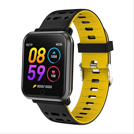 FMWLKJ Smart Watch Ip68 Impermeable Monitor de Ritmo cardíaco ...