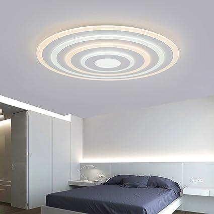 Mingteng Plafones LED, luces tricolores, delgadas, luces de ...