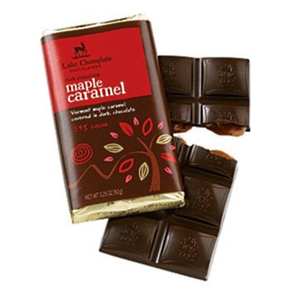 Amazon.com : Lake Champlain Dark Chocolate Maple Caramel Gourmet ...