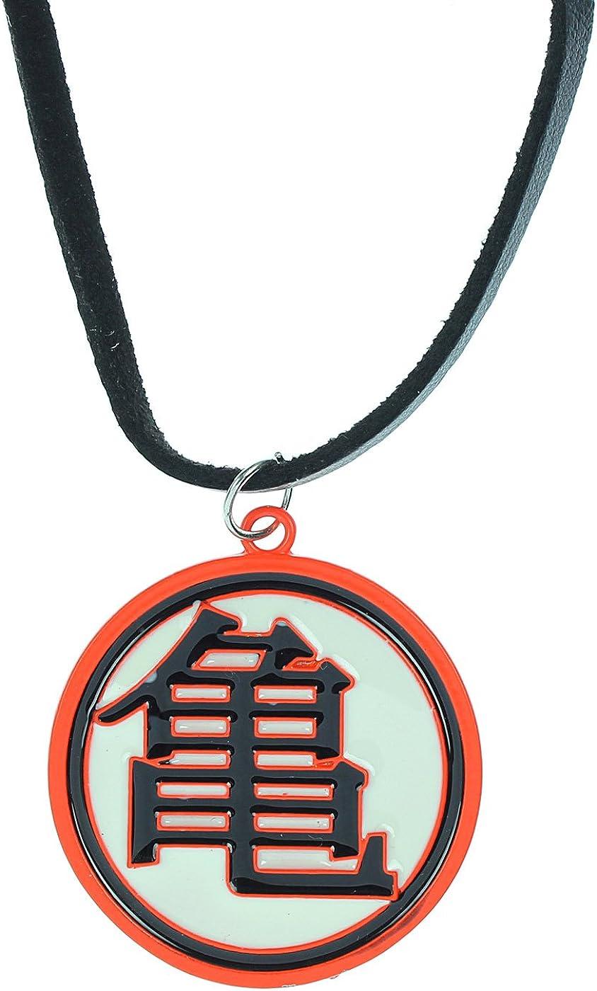 Dragon Ball Necklace Goku Symbol Metal Dbz Pendant Costume Cosplay Licensed New