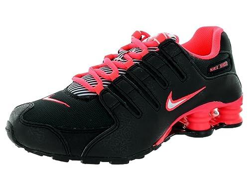 innovative design bafc3 f2e13 Nike Kids Shox NZ (GS) BlackWhiteHyper Punch Running Shoe 4.5 Kids US  Amazon.ca Shoes  Handbags