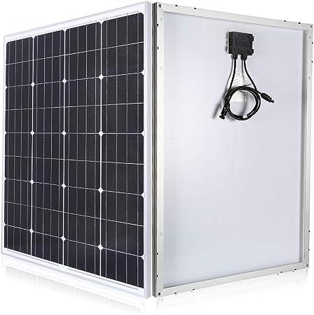 1 Pièce 30 Watt 12v Monocristallin Module Solaire Panneau pour Jardin Camping