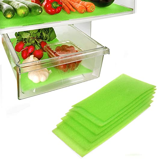 12X15 Inches 6 Pack Dualplex Fruit /& Veggie Life Extender Liner for Fridge Refrigerator Drawers Extends The Life of Your Produce /& Prevents Spoilage