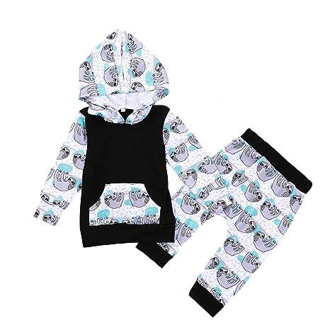 Amazon.com: Conjunto de ropa unisex para bebé, niñas y niños ...