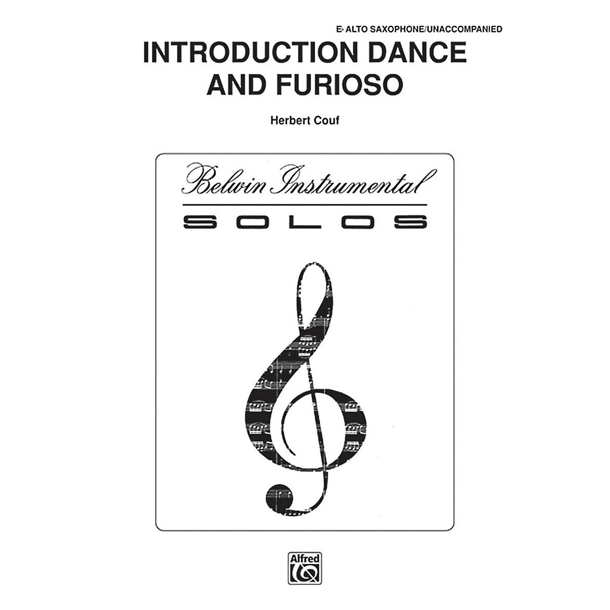 Amazon Com Alfred Introduction Dance And Furioso For Alto Sax By