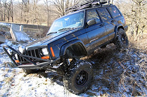 Lifted Jeep Cherokee >> Amazon Com Rough Country 623n2 4 5 Inch Suspension Lift Kit W