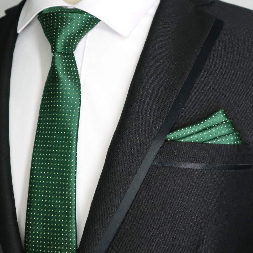 YUFSHU Conjunto De Corbata Para Hombres Diseño De Rayas De Seda De ...