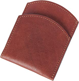product image for Col. Littleton Genuine Leather Front Pocket Wallet   Made in USA   Brown