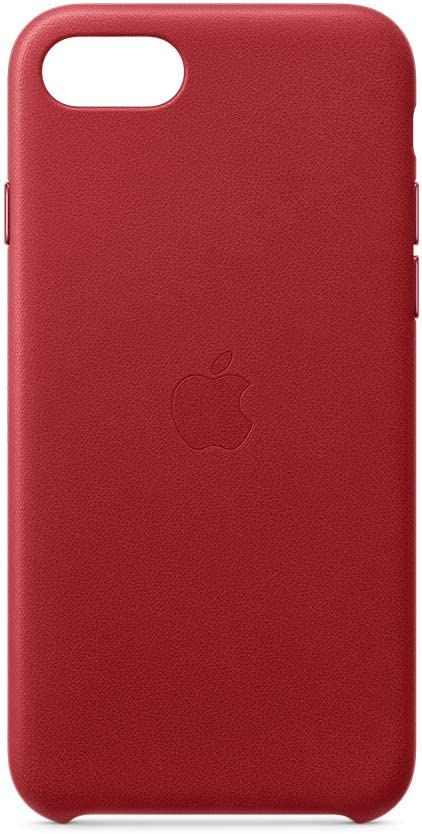 Apple Leather Case (for iPhone SE) - (Product) RED