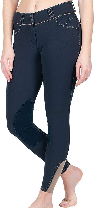 Horse Riding Pants Black//Blue Breeches Women Fashion Full Seat Breeches.