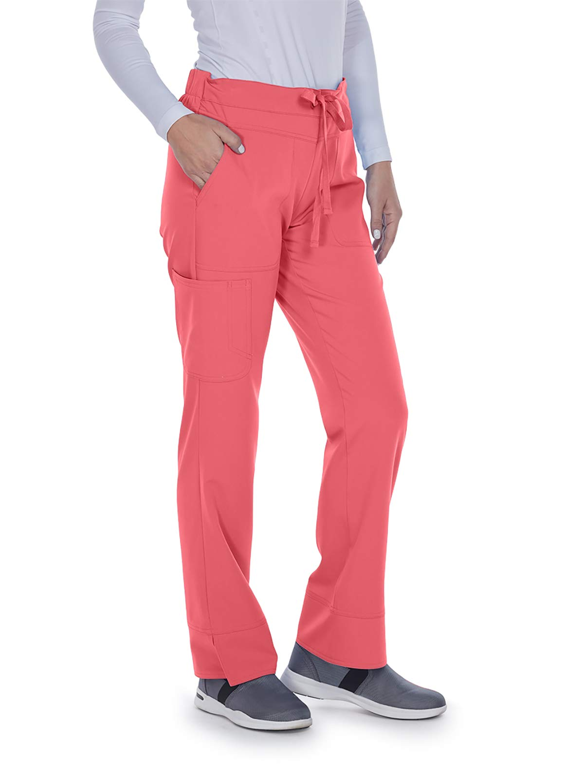 Grey's Anatomy Signature 2207 Callie Low Rise Pant Coral Kiss SP