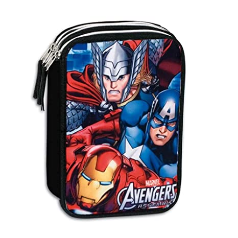 Amazon.com : Plumier Vengadores Avengers Marvel Twister ...